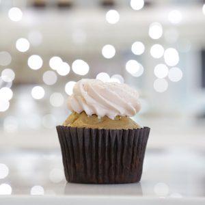 Vanilla Love cupcake